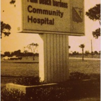 Palm Beach Gardens Community Hospital Expansion, 1977