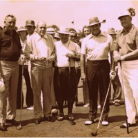 John MacArthur with the Legends of Golf